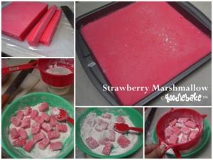 marshmallow stroberi