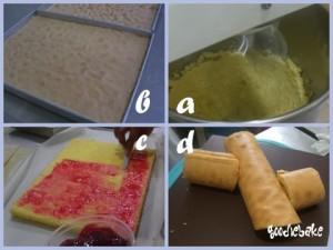 xmas cake-log
